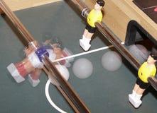 Tabellenoberseitenfußball Stockfoto
