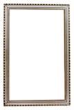 Tabellenweinlese-Fotofeld auf Weiß Lizenzfreies Stockbild