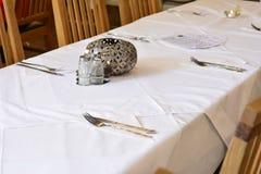 Tabeller och stolar Royaltyfria Bilder