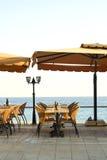 Tabeller på havet Royaltyfri Fotografi