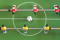 tabellfotboll Arkivbilder