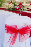 Tabellmittstycke. gifta sig tabellgarnering Royaltyfria Foton