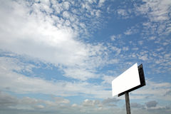 Tabellone per le affissioni Fotografie Stock