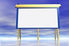 Tabellone per le affissioni. illustrazione vettoriale