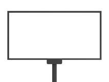 Tabellone per le affissioni in bianco Immagine Stock