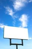 Tabellone per le affissioni bianco Immagini Stock Libere da Diritti