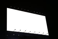 Tabellone per le affissioni in bianco pronto per la nuova pubblicità Fotografia Stock