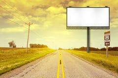 Tabellone per le affissioni creativo Fotografie Stock