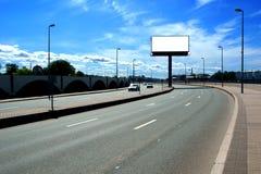 Tabellone per le affissioni della strada immagini stock