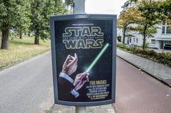 Tabellone per le affissioni di Centercom da Star Wars John Williams Suite At The Netherlands 2018 immagini stock