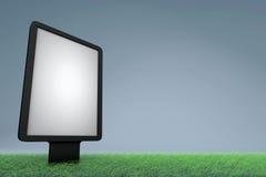 Tabellone per le affissioni di pubblicità ecologico della via Fotografia Stock
