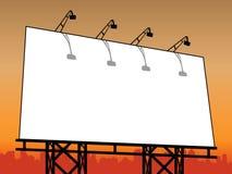 Tabellone per le affissioni esterno Immagine Stock
