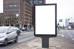 Tabellone per le affissioni esterno fotografia stock