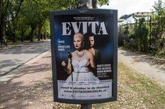 Tabellone per le affissioni Evita At Amsterdam The Netherlands 2018 di Centercom immagine stock