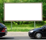 Tabellone per le affissioni nella via Fotografia Stock