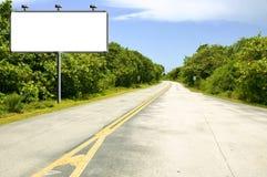 Tabellone per le affissioni sulla strada Fotografia Stock Libera da Diritti