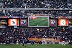 Tabellone segnapunti elettronico - WC 2010 della FIFA Fotografia Stock