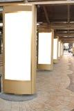 Tabelloni per le affissioni Fotografia Stock