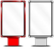 Tabelloni per le affissioni verticali illustrazione di stock