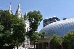 Tabernáculo en Salt Lake City, Utah Fotografía de archivo
