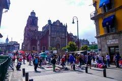 Tabernáculo metropolitano, Ciudad de México imagen de archivo libre de regalías