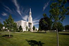 Tabernáculo mormónico Fotografía de archivo libre de regalías