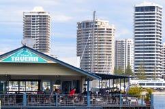 Taberna Gold Coast Queensland Australia del muelle de Fishermans Fotografía de archivo libre de regalías