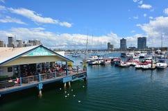 Taberna Gold Coast Queensland Australia del muelle de Fishermans Imágenes de archivo libres de regalías