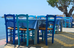 Taberna grega Fotos de Stock