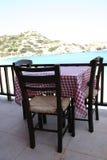 Taberna griega foto de archivo libre de regalías
