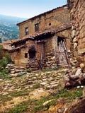 Taberna mediterránea rústica de la aldea Fotografía de archivo
