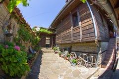 Taberna rural búlgara del patio Imagen de archivo