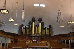 Tabernacle в Солт-Лейк-Сити, Юте стоковое изображение rf
