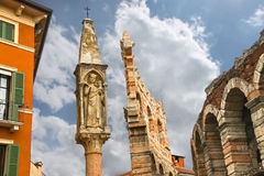 Tabernacle около арены Вероны Вероны, Италии Стоковое Изображение RF