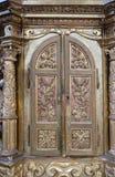 Tabernacle. Altar in the church of Saint Catherine of Alexandria in Krapina, Croatia Stock Photos