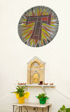 Tabernacle in a chapel of a church. Stock Photo