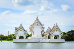 Tabernacle on a lake Royalty Free Stock Images