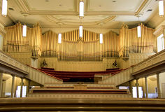 Tabernacle Organ stock photo