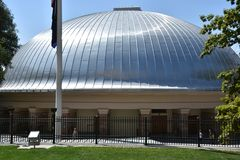Tabernacle in Salt Lake City, Utah. Tabernacle at Temple Square in Salt Lake City, Utah Royalty Free Stock Photo