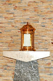 A tabernacle on a side alter. Image of a tabernacle on a side alter Stock Photography