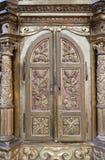 Tabernacle. Altar in the church of Saint Catherine of Alexandria in Krapina, Croatia Stock Image