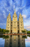 Tabernacle in temple square Stock Photos