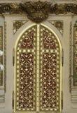 Tabernacolo all'altare dell'incrocio santo nella cattedrale di Zagabria Fotografie Stock