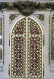 Tabernacolo all'altare dell'incrocio santo nella cattedrale di Zagabria Fotografie Stock Libere da Diritti