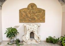 Tabernacolo Altare Maggiore, ` Алессандрия Базилики di Санты Caterina d, Galatina, Италия Стоковое Изображение