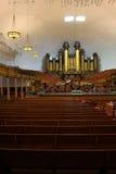 Tabernakelorgan in Salt Lake City, Utah Lizenzfreie Stockfotografie