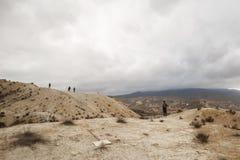 Tabernas öken - AlmerÃa, Spanien arkivbild