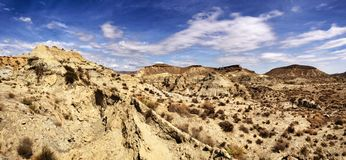 Tabernas desert Royalty Free Stock Images