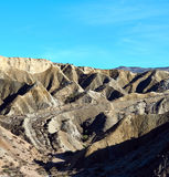 Tabernas Desert in Spain. Andalusia, Province of Almeria Royalty Free Stock Image