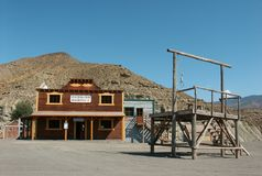 Tabernas near Almeria in Spain Stock Images